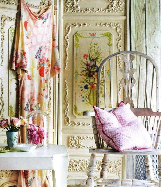 bohem mobilya dekorasyon fikirleri esya ve aksesuarlar yatak odasi oturma odasi bahce tasarimlari eski mobilyalar (9)