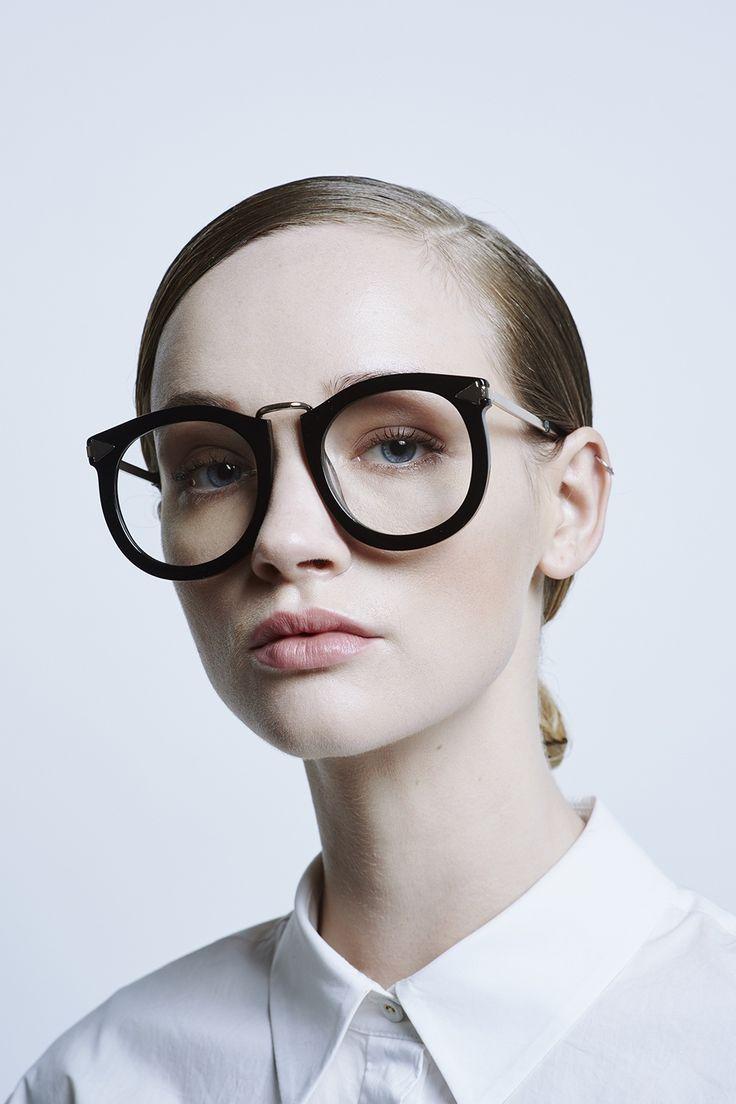 Alternative Fit Super Lunar Black - All Eyewear Collections | Karen Walker