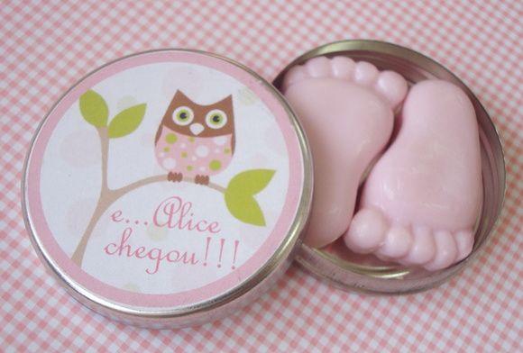 Latinha Baby Completa  sabonete Pezinho | Armazém de Arte | Elo7
