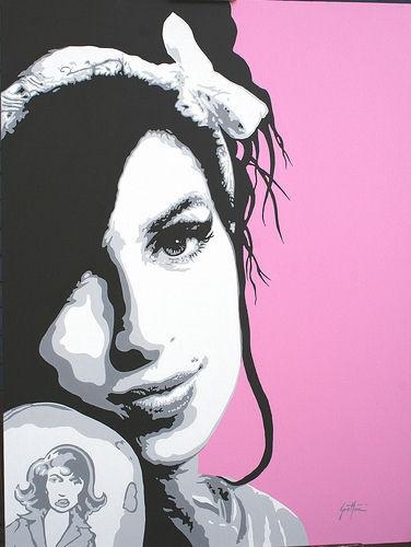 Pop Art, Amy Winehouse.