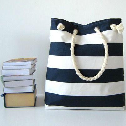 Nautical tote bag ~ <3