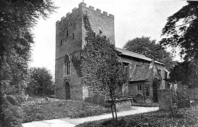 St Patrick's Church Nuthall 1906