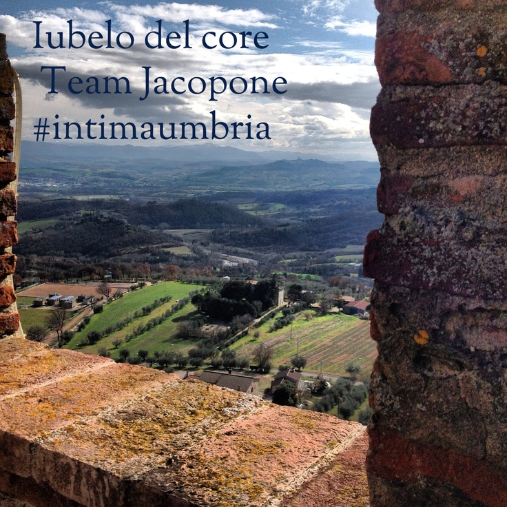 Iubelo del core - #TeamJacopone #intimaumbria