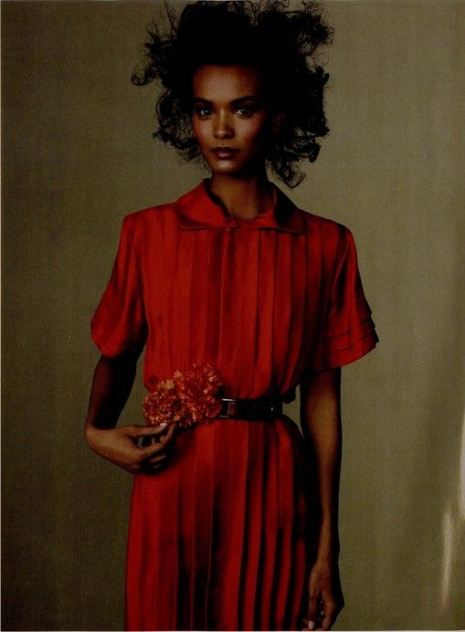 Vogue March 2010, Liya Kebede