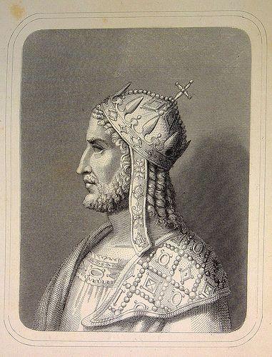 Justiniano I el Grande (482-565), jurista bizantino.