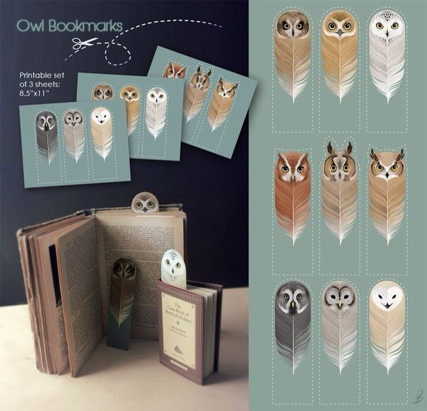 Book-owls. How cool!
