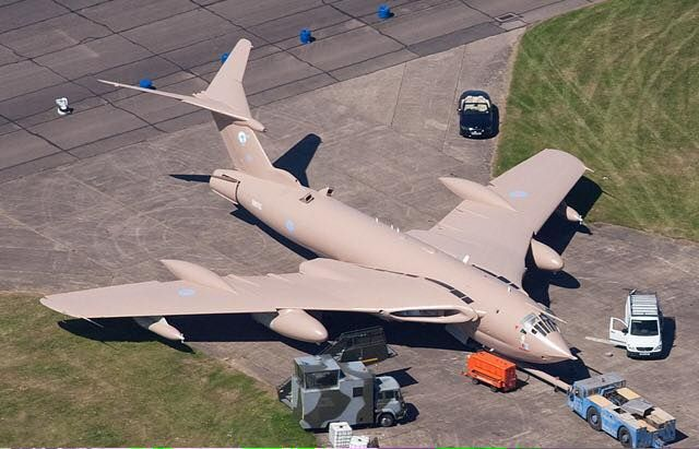 Handley Page Victor Military Aircraft Fighter Jets