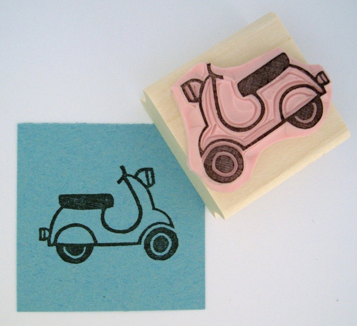 scooter stamp