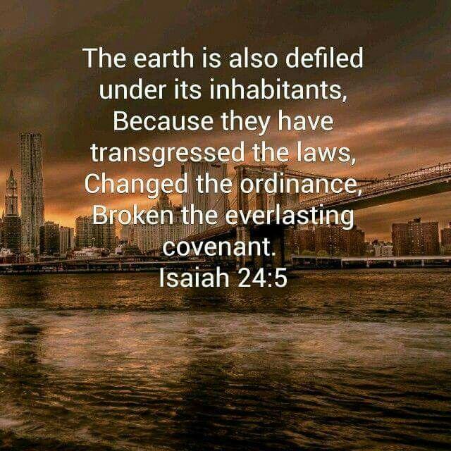 Isaiah 24:5