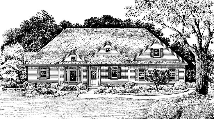 Eplans ranch house plan cozy country cottage 1876 for Eplans cottage house plan
