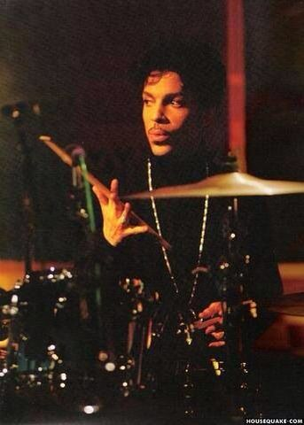 Yes . . . he played the drums ~ Rollin' them sticks ~