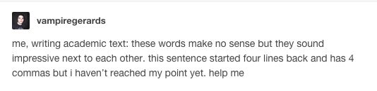 "This blatant gibberish. | 18 Jokes That'll Make You Say ""Same"" If You've Ever Written An Essay"