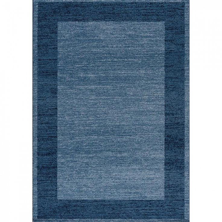 Italian rug minimalist design  Navy Blue Capri by Sitap