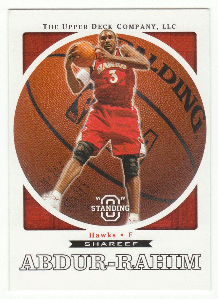 Shareef Abdur-Rahim # 1 - 2003-04 Upper Deck Standing O Basketball