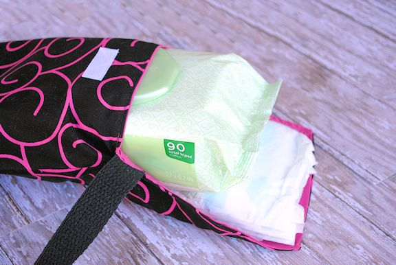 Diapers And Wipes Case Pattern Diaper Clutch Bags And