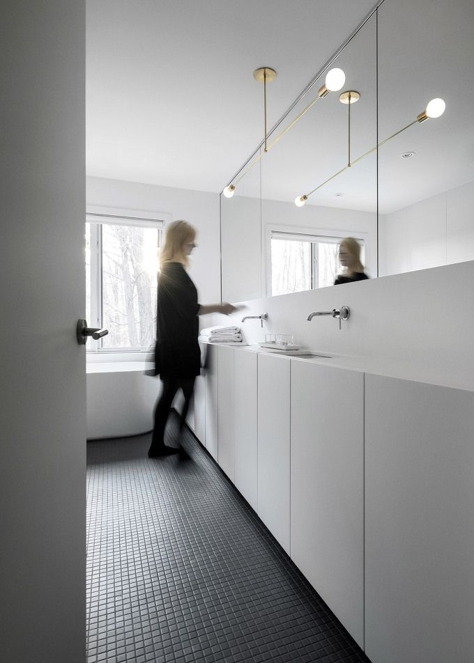 *미니멀 인테리어 아파트 [ Appareil Architecture ] Montreal home into minimalist living space :: 5osA: [오사]