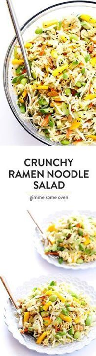 One of my all-time F One of my all-time FAVORITE salads! Its quick and easy to make loaded up with fresh avocado and mango and almonds and cole slaw and an Asian vinaigrette and its totally perfect for picnics and potlucks and easy dinner nights at home. So delicious! | gimmesomeoven.com Recipe : http://ift.tt/1hGiZgA And @ItsNutella  http://ift.tt/2v8iUYW  One of my all-time F One of my all-time FAVORITE salads! Its...