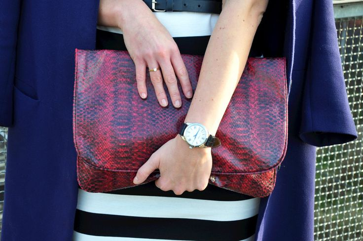 Mens watch and clutch inspiration bloggers outfit