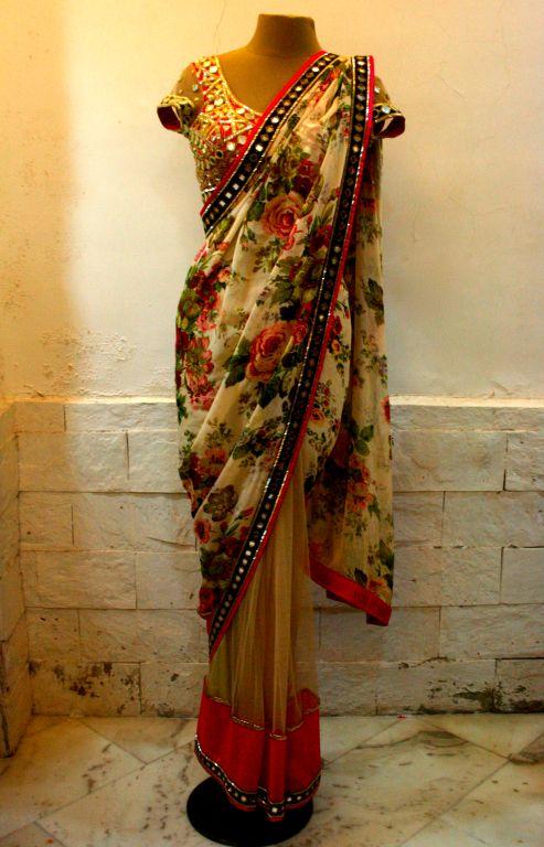 arpita_mehta_designer_gota_mirror_work_lehenga_saree_collection