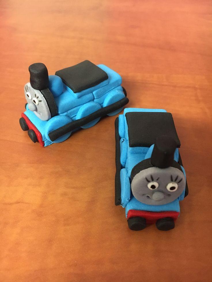 Thomas train fondant figurine