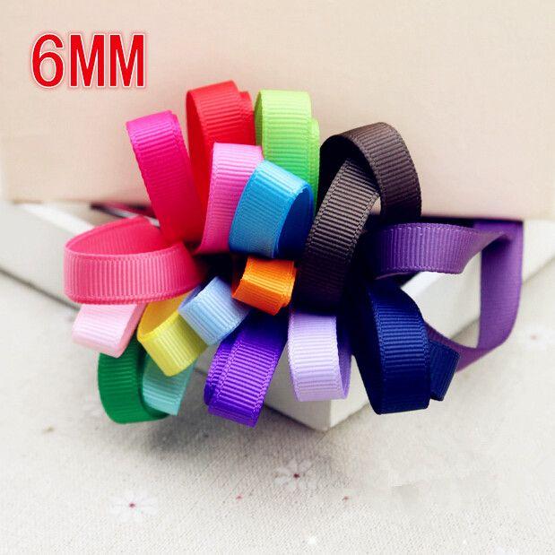 Бесплатная доставка 6 мм 10 цветовой гаммы тканая лента -
