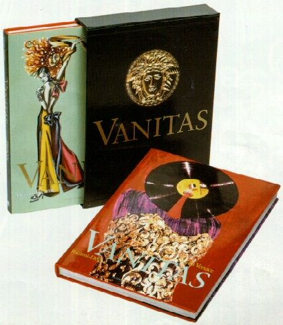 Gianni Versace:   Versace Vanitas:  Decori e Ricami - Ricami e Decori Volume 2 & 3   Leonardo De Luca Editori 1993