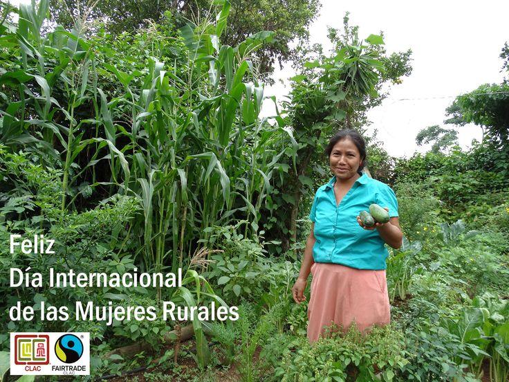 Agricultora de Guatemala #comerciojusto #fairtrade #cafe #coffee #mujerrual