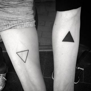 And that you complete one another. | 21 Unique Couples Tattoos To Share With Someone You Love