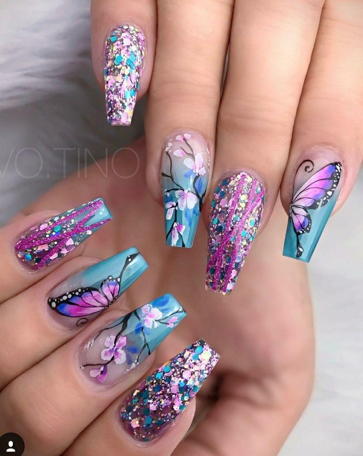 35258 best Nails images on Pinterest | Nail scissors, Nail design ...