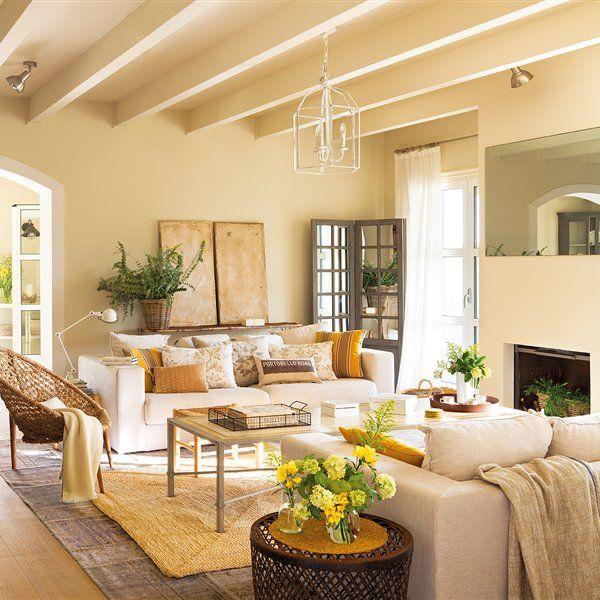 M s de 25 ideas incre bles sobre salones grandes en - Casas con buhardilla ...