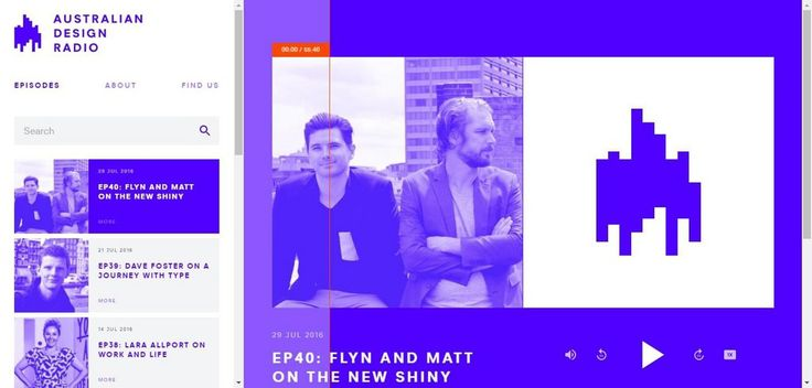 Australian Design Radio – On Air With EP40: Flyn and Matt on The New Shiny | Web Design Inspiration #ux #ui #interface #animation #interaction #userexperience #dribbble #behance #design #uitrends #instaui #magazineduwebdesign #interface #mobile #application #webdesign #app #concept #userinterface #inspiration #appdesign