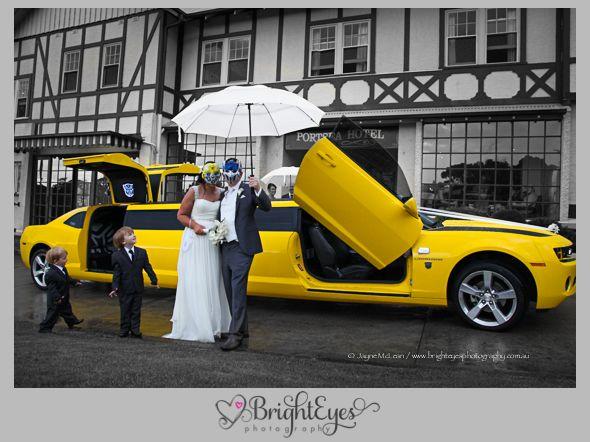 Mornington Peninsula Wedding Photographer, Bumblebee Limo Wedding, Exotic Limo, www.brighteyesphotography.com.au