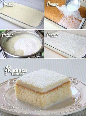 Gelin Pastası Kadincatarifler.com - En Nefis Yemek Tarifleri Sitesi - Oktay Usta