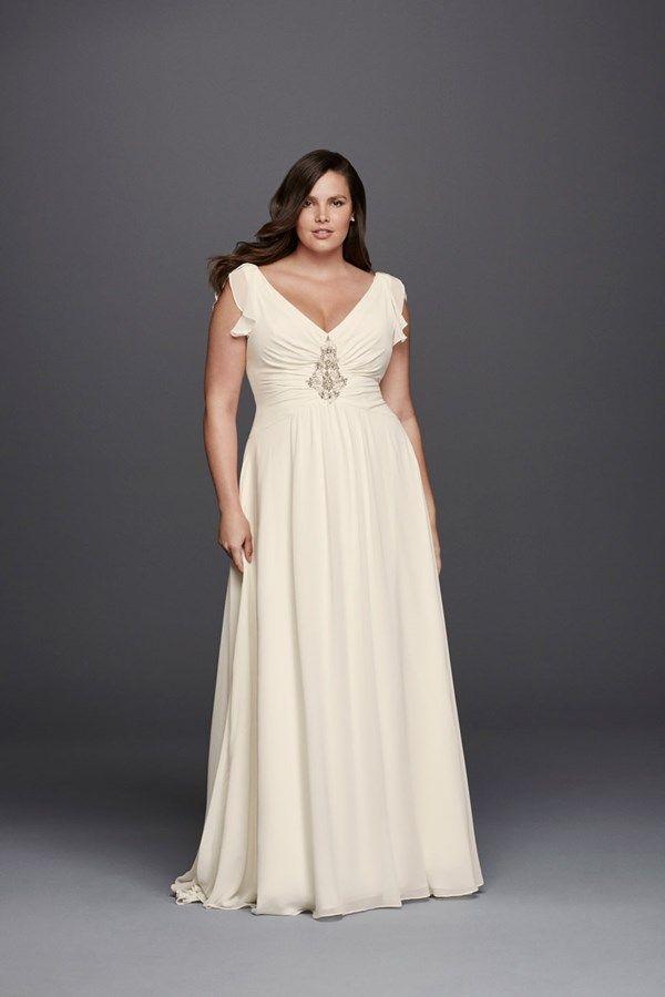 Jenny Packham plus size wedding dress