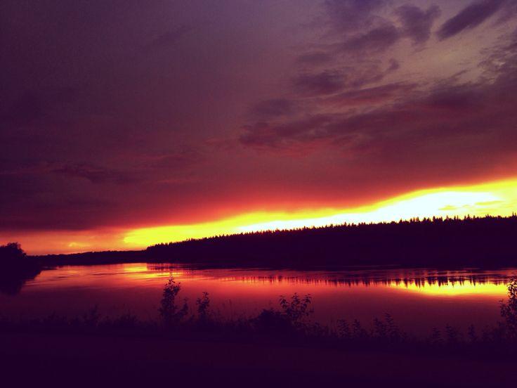 #iphone #landscape #sunset #canada