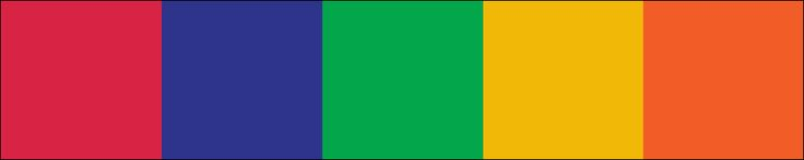 """Uitchecken """"African flags"""". #AdobeColor https://color.adobe.com/nl/African-flags-color-theme-2296362/"""