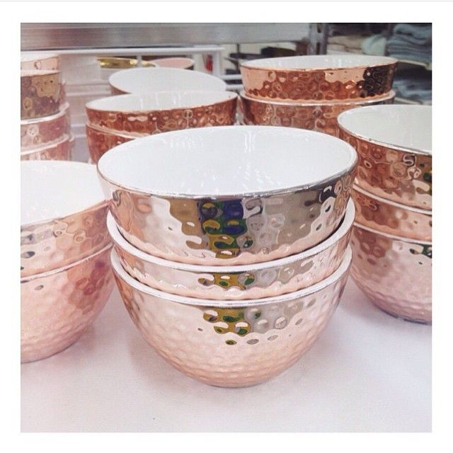 Rose gold love - #LisaTforTarget tealight holders!