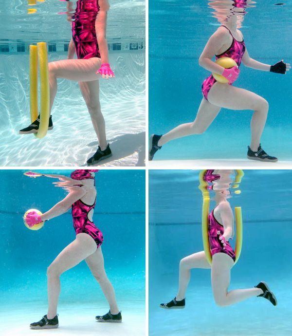 8 Pool Exercises That Burn Fat Fast Butt Pinterest Freundschaft