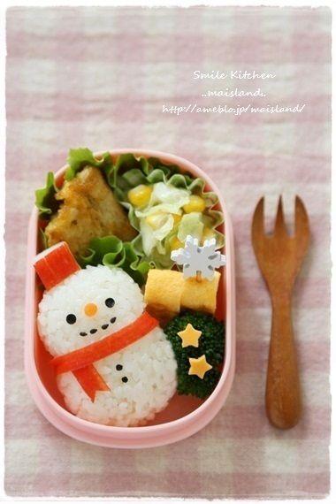 雪だるまおにぎり | Mai*Maiさん