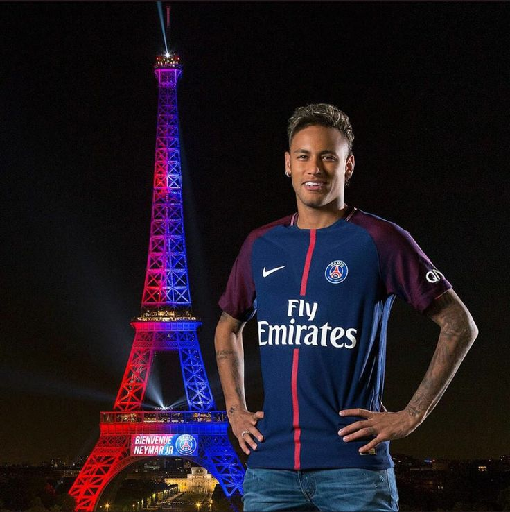 PSG Aug 2017 Neymar Jr