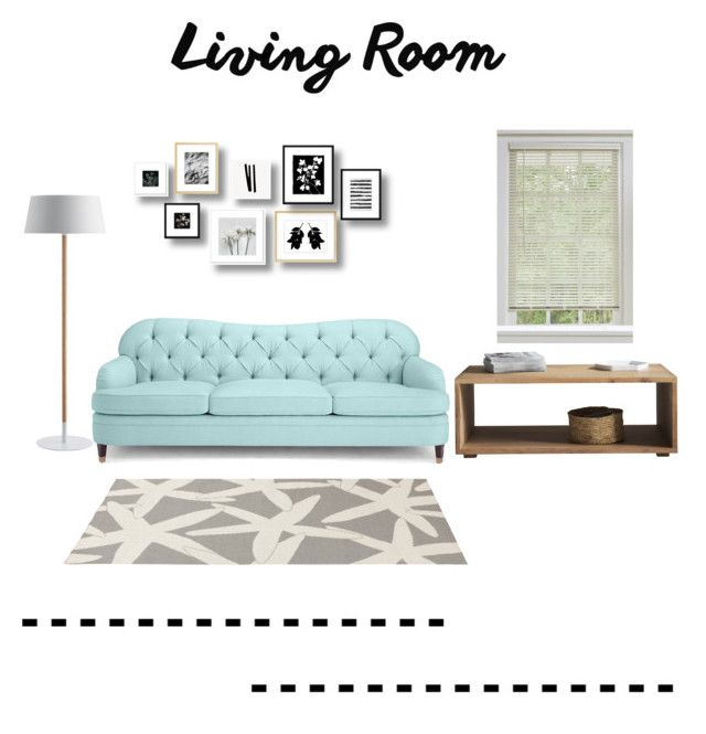 """""""living room"""" by littlelook on Polyvore featuring interior, interiors, interior design, home, home decor, interior decorating, Kate Spade, Somerset Bay and living room"""