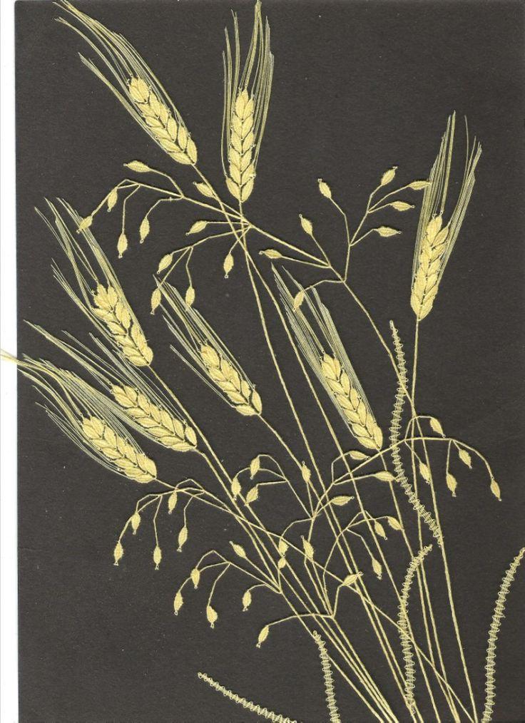 Kytice – obilí (29 cm x 42 cm)