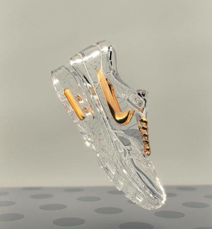 Cinderella Nikes !!! Gym fit