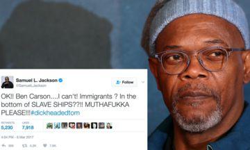 Samuel L. Jackson On Ben Carson's Slavery Comment: 'Mothaf***a Please' | The Huffington Post