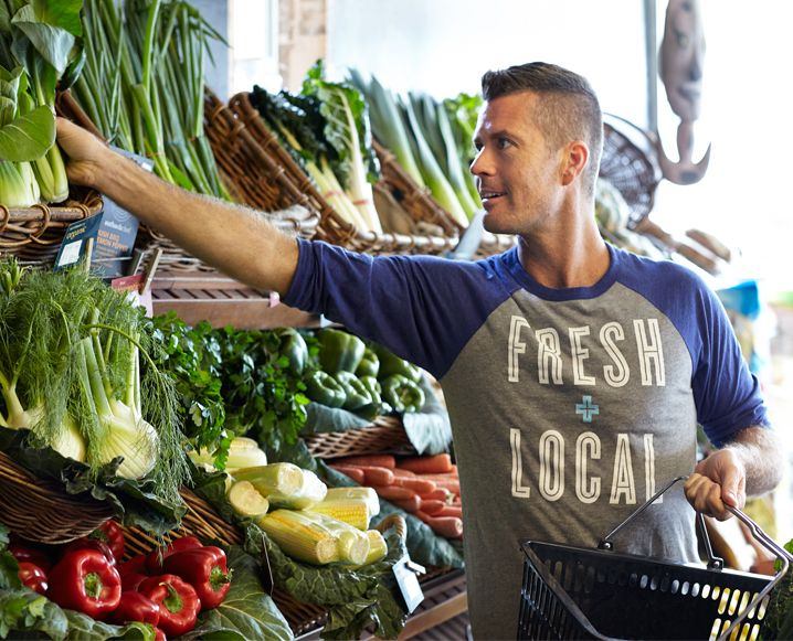 On My List: Grocery Shopping for Paleo Foods with Chef Pete Evans #Modere