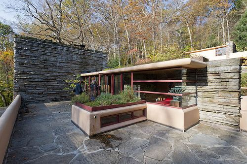 Fallingwater Mill Run Pa Frank Lloyd Wright To Think