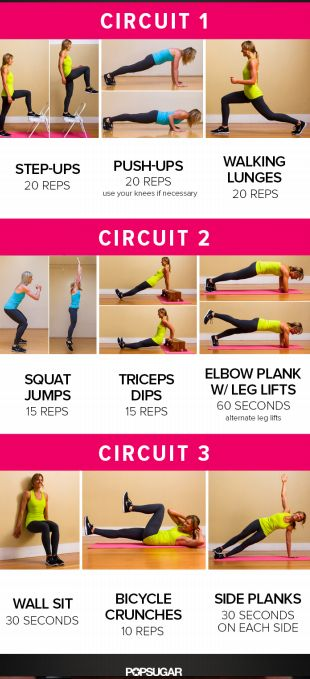 Body Circuit- Do Each Circuit Twice