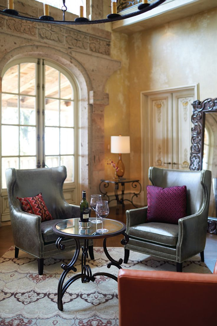 bernhardt kingston chairs in leather and nickel nails villa medici metal tables bernhardt. Black Bedroom Furniture Sets. Home Design Ideas