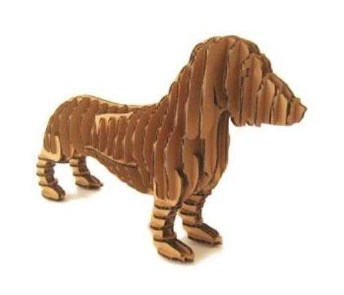 Complete collection of cardboard made animals, but also mannequins for stores. ++ D-torso