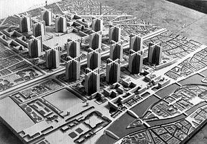 Le Corbusier's vision of Paris.
